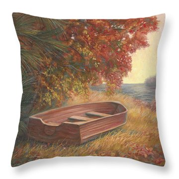 Rowboat Throw Pillows