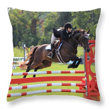 At-su-jumper57 Throw Pillow