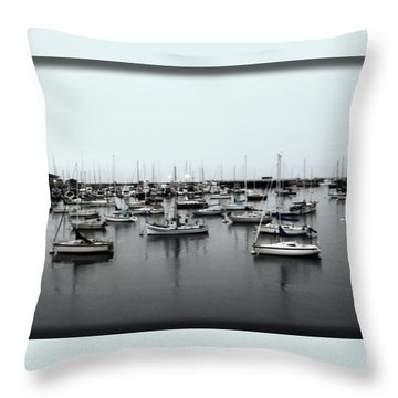 At The Bay  Throw Pillow