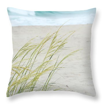 By The Sea Throw Pillow