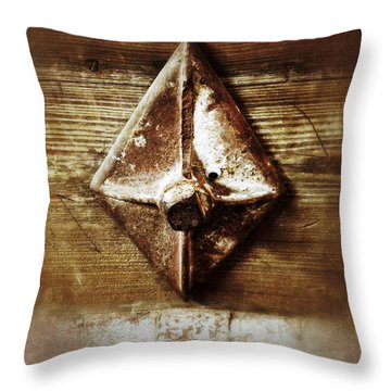At The Cotton Mill Throw Pillow by Olivier Calas