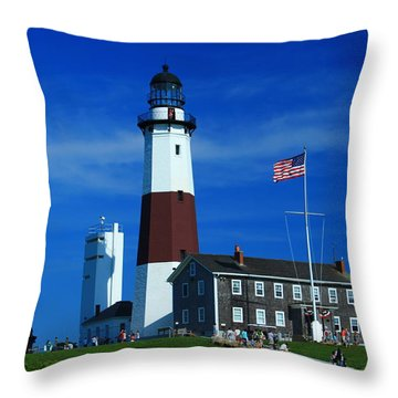 At The End Throw Pillow