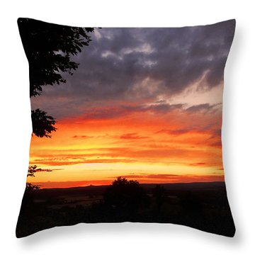 Throw Pillow featuring the photograph At The End Of The Day ... by Juergen Weiss