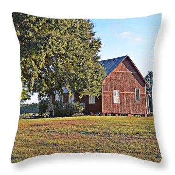 Throw Pillow featuring the photograph At The End Of The Day by Linda Brown