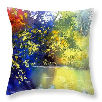 At The Marsh Throw Pillow