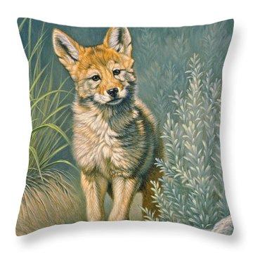 Yellowstone Park Throw Pillows