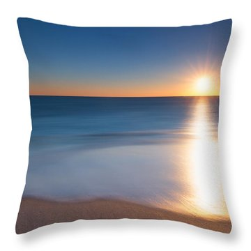 At The Waters Edge Version 2 Throw Pillow