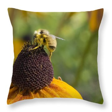 At Work Throw Pillow