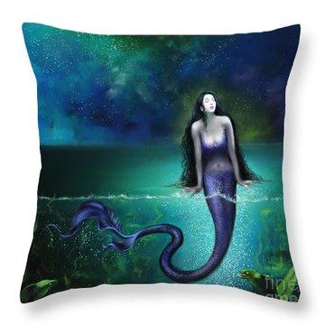 Atargatis Throw Pillow