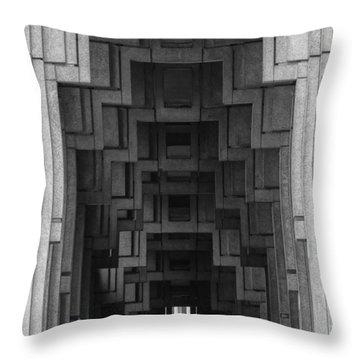 Atlanta Ga Architecture-city Building Throw Pillow