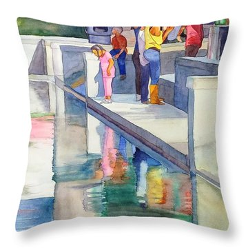 Atlanta Kids Throw Pillow