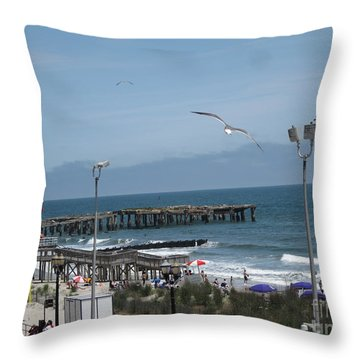 Atlantic City 2009 Throw Pillow