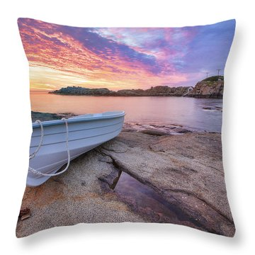 Atlantic Dawn Throw Pillow