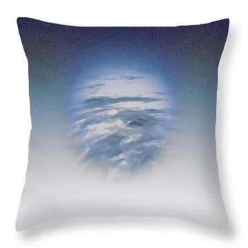 Atmospheric Presence Throw Pillow by Kellice Swaggerty