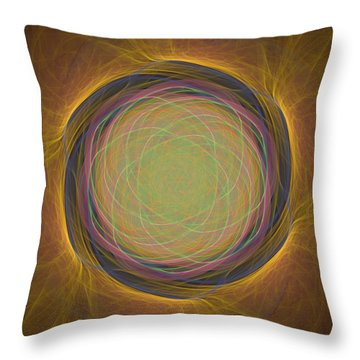 Atome-54 Throw Pillow by RochVanh