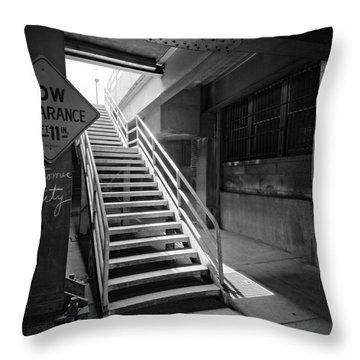 Atomic City Throw Pillow