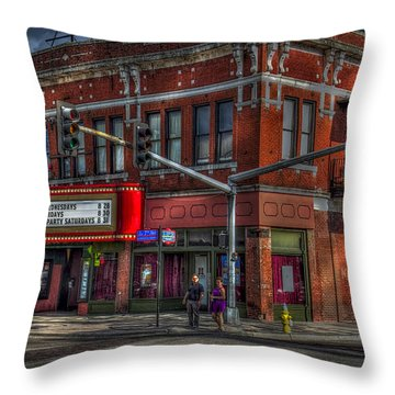 Atomic Wednesdays Throw Pillow by Marvin Spates