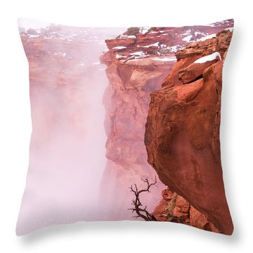 Atop Canyonlands Throw Pillow