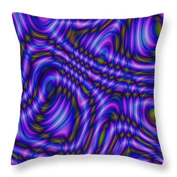 Atracareis Throw Pillow