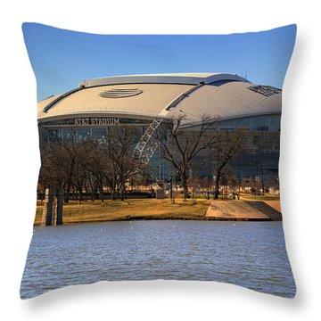Att Stadium Throw Pillow