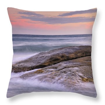 Attack The Waves Throw Pillow by Guido Montanes Castillo