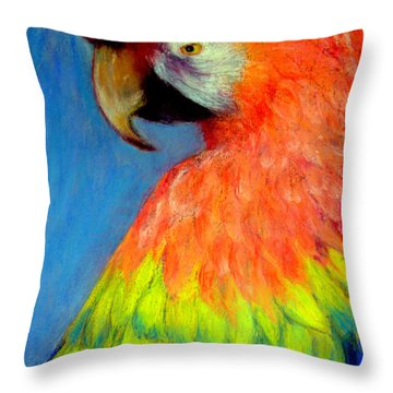 Attitude  Pastel Throw Pillow
