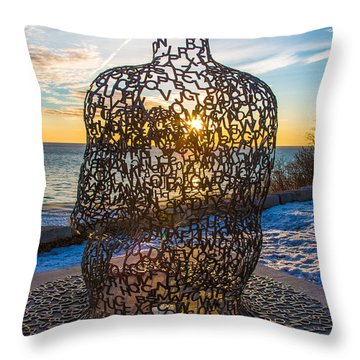 Atwater Spillover Sunrise Throw Pillow