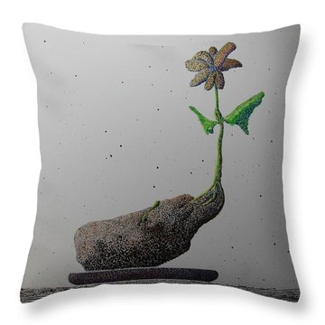 Au Paired Throw Pillow by A  Robert Malcom