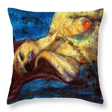 Auburn In Repsoe Throw Pillow