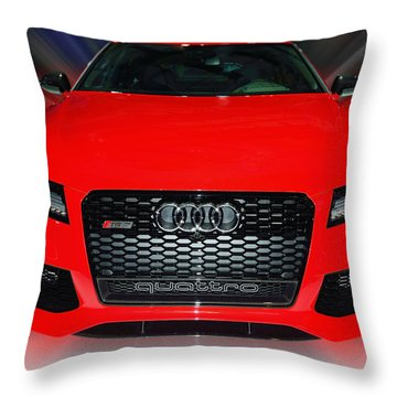 Audi Quattro Rs7 2014 Throw Pillow