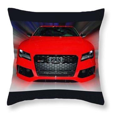 Audi Quattro Rs7 2014 Throw Pillow