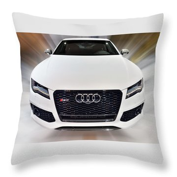 Audi  R S 7 Quattro 2014 Throw Pillow