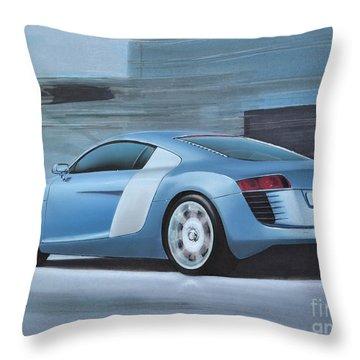 Audi R8 Lemans Concept Throw Pillow by Paul Kuras