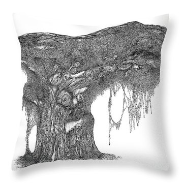 August '12 Throw Pillow