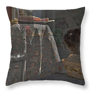 August The Hangover Throw Pillow