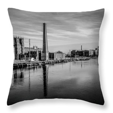Augusta Canal Throw Pillow by Jessica Brawley