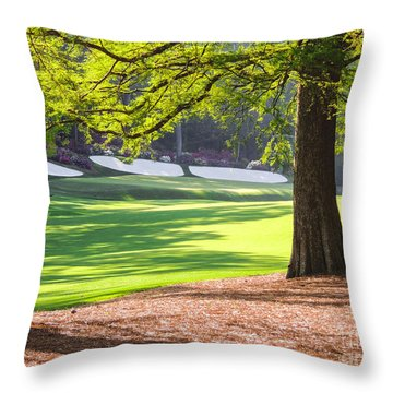 Augusta  Phils' View At 13 Throw Pillow