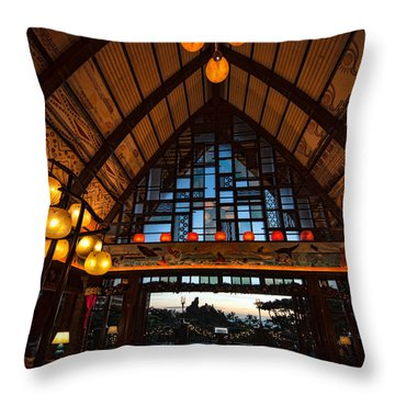 Aulani Lobby Throw Pillow