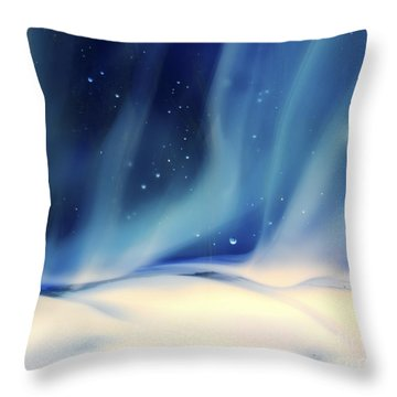 Aurora 1 Throw Pillow