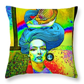 Aurora Throw Pillow by Chuck Staley