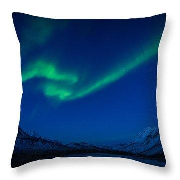 Aurora Flare  Throw Pillow