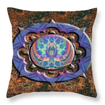 Aurora Graphics 10 A Throw Pillow
