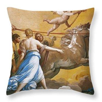 Aurora Throw Pillow by Guido Reni