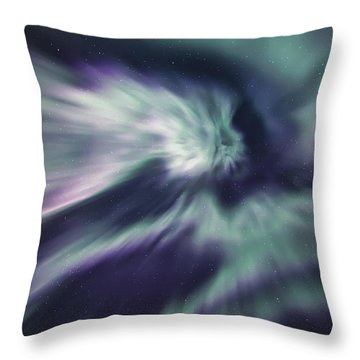 Aurora Sky Throw Pillow