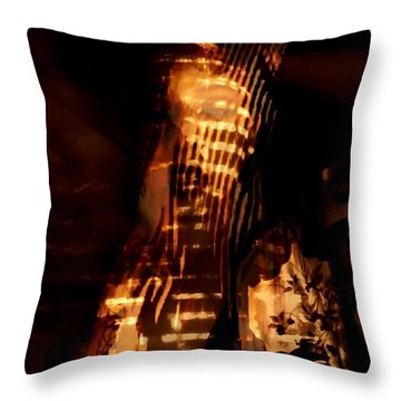 Throw Pillow featuring the photograph Aurous by Jessica Shelton