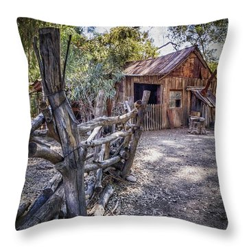 Aussie Farm Throw Pillow