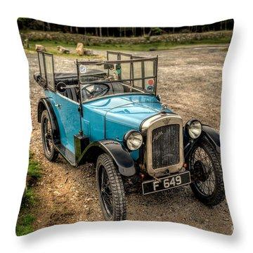 Austin 7 V2 Throw Pillow by Adrian Evans