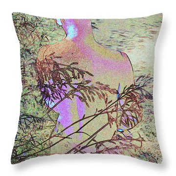 Austin A. 6-1 Throw Pillow by Andy Shomock