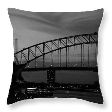 Australia, Sydney, Sunset Throw Pillow