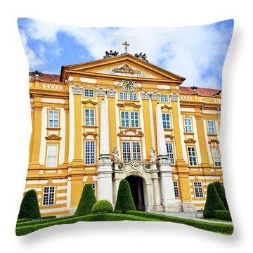 House Of Worship Throw Pillows